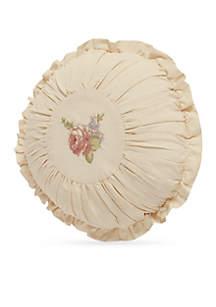 Anna Round Decorative Pillow