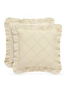 Piper & Wright Anna Diamond Decorative Pillow