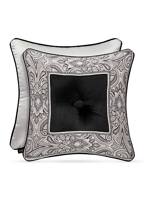 Chancellor Buttoned Square Decorative Pillow