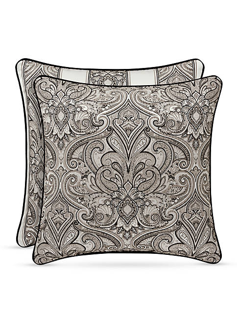 J Queen New York Chancellor Square Decorative Pillow