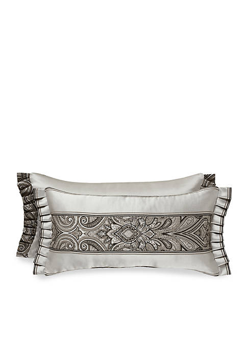 J Queen New York Chancellor Boudoir Decorative Pillow