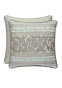 Monticello Stripe Throw Pillow