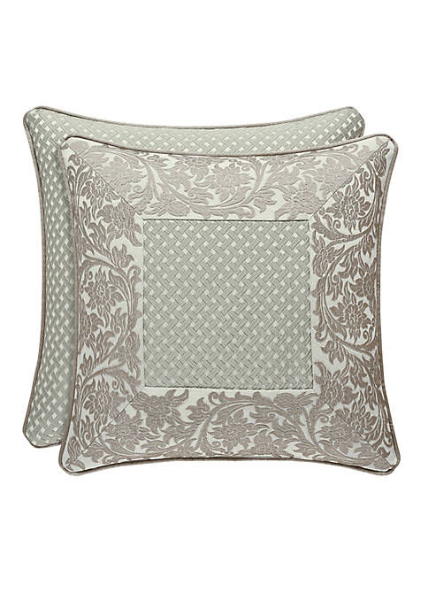 J Queen New York Monticello Square Throw Pillow