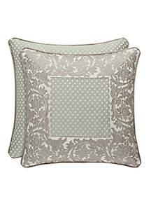 Monticello Square Throw Pillow