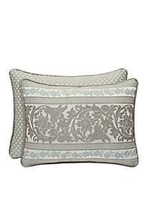 Monticello Boudoir Throw Pillow