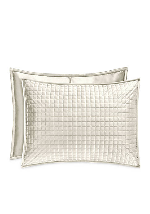 J Queen New York Glacier Quilted Sham