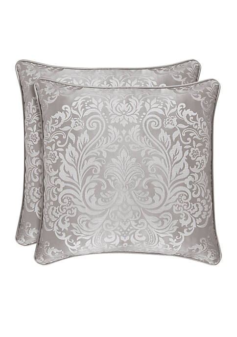 La Scala Damask Square Decorative Pillow