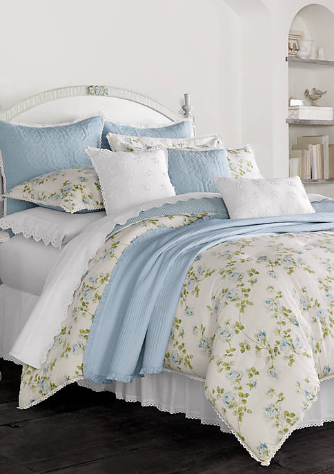 Piper & Wright Rosalie 4-Piece Queen Comforter Set