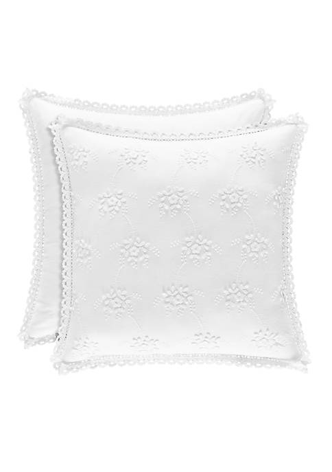 Rosalie Square Decorative Pillow