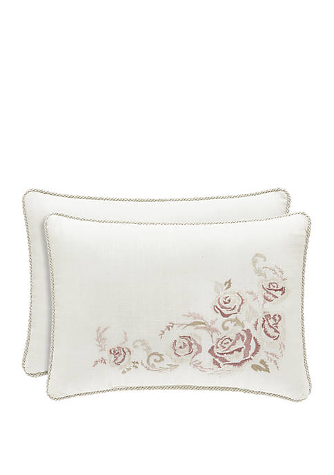 Eleanor Cream Boudoir Pillow