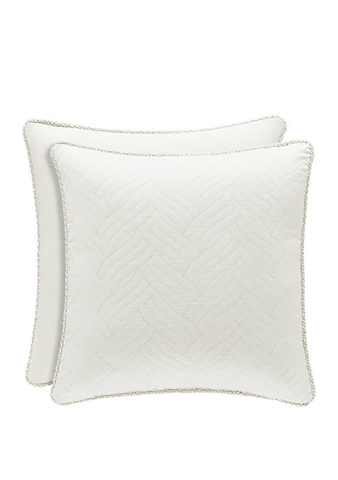Royal Court Palermo Cream Square Pillow