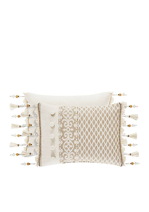 J Queen New York Milano Boudoir Throw Pillow
