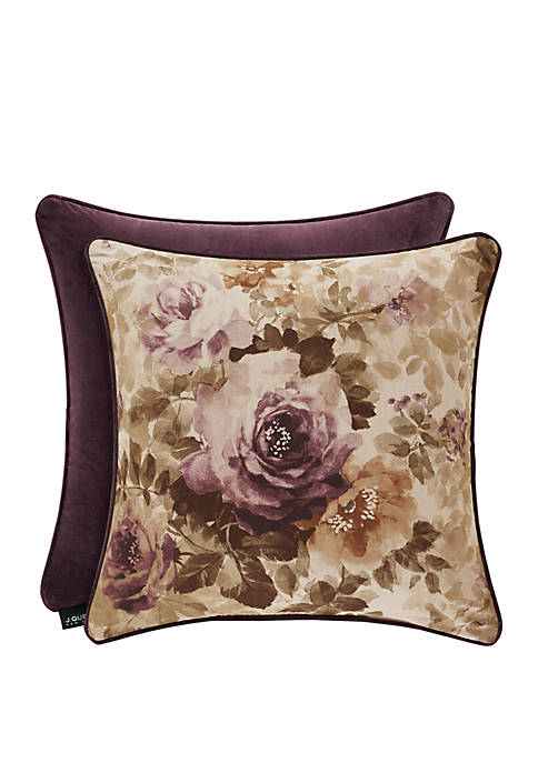 J Queen New York Grace Square Pillow