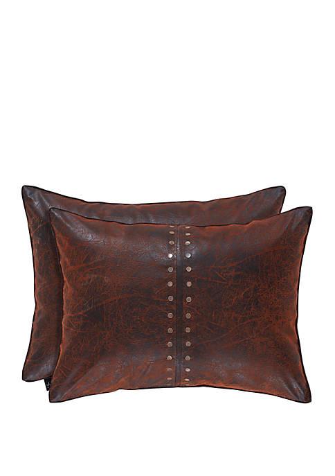 Katonah Brown Boudoir Pillow