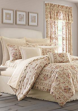 Sadie Linen King Comforter Set