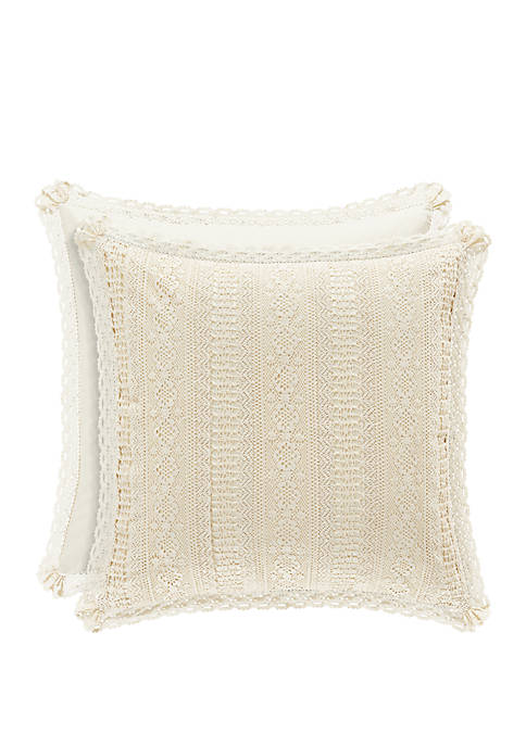 Piper & Wright Sadie Natural Euro Sham