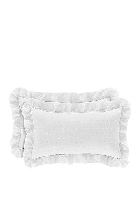 Eva Natural Boudoir Pillow