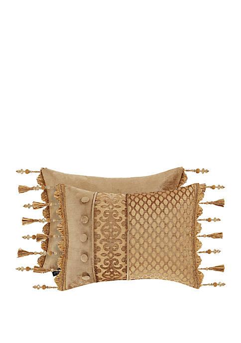 Sicily Gold Boudoir Pillow