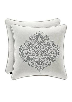 Pierce Embellished Throw Pillow