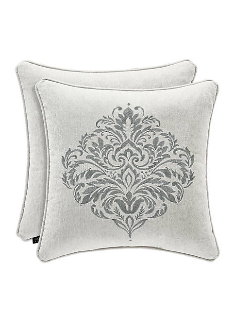 J Queen New York Pierce Embellished Throw Pillow