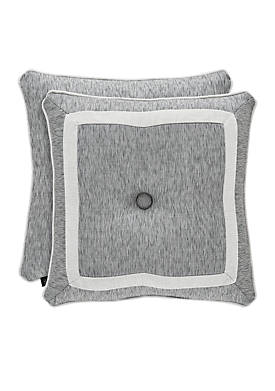 Pierce Button Tufted Throw Pillow