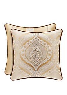 J Queen New York Gianna Gold Pillow