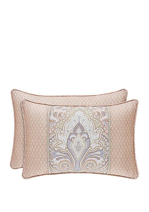 Sloane Blush Boudoir Pillow