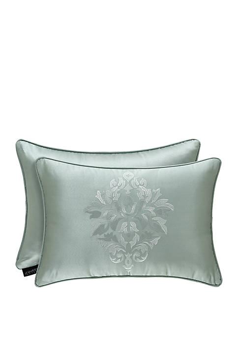 J Queen New York Lombardi Spa Boudoir Pillow