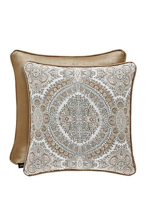 Sorrento Blue 20x20 Square Pillow