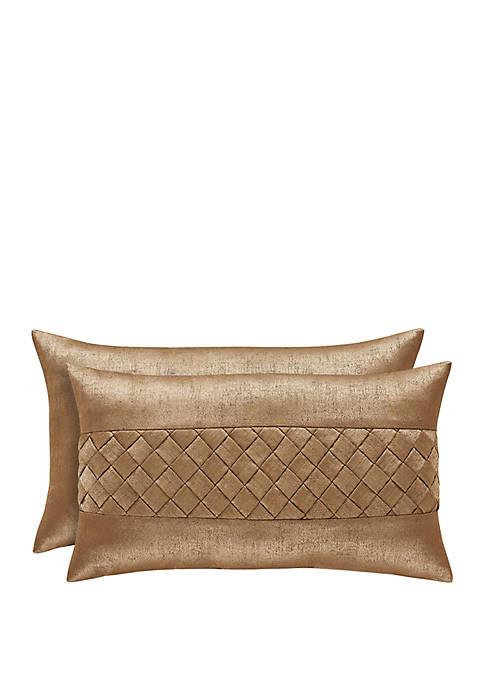 Sorrento Gold Boudoir Pillow