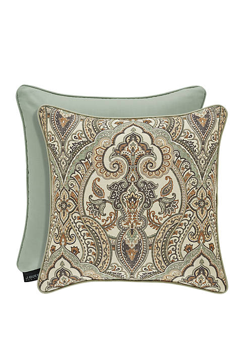 J Queen New York Vienna Spa Square Pillow