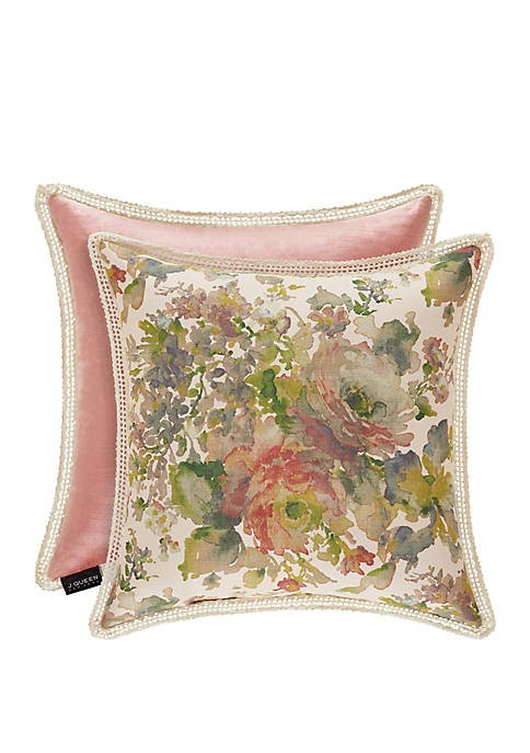 J Queen New York Floral Park Blush Square