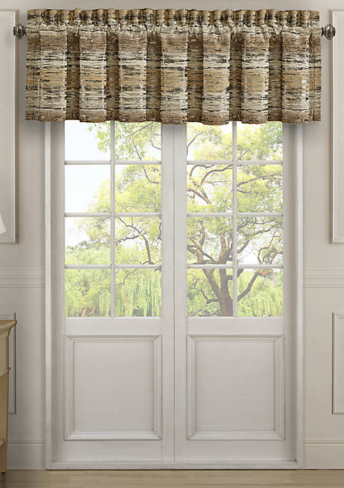 Sunrise Gold Straight Valance