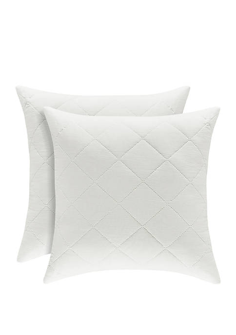 Oakland Ivory 18 in Square Pillow