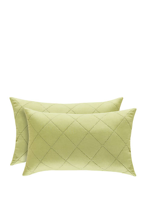 Oakland Green Boudoir Pillow