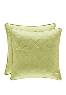 Oakland Green Euro Quilted Sham