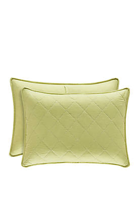 Oakland Green King Quilted Sham