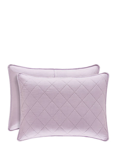 Oakland Lilac Standard Quilted Sham