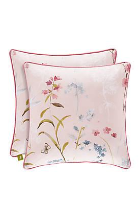 Beatrice Rose Square Pillow
