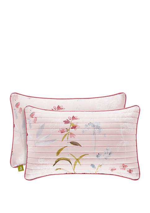 Beatrice Rose Quilted Boudoir Pillow