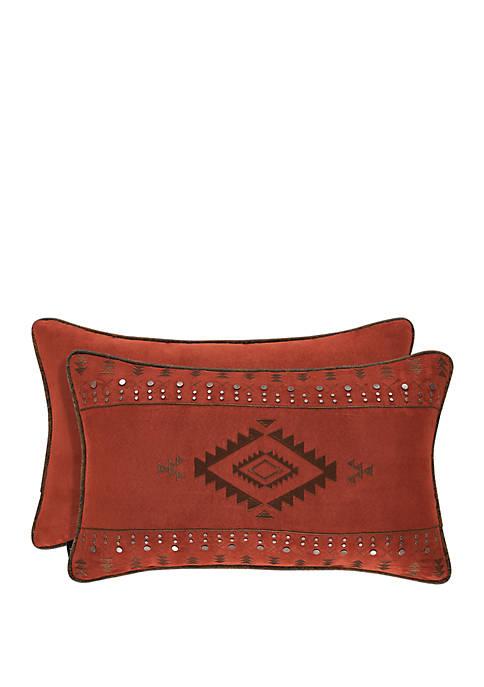 Taos Rust Boudoir Pillow