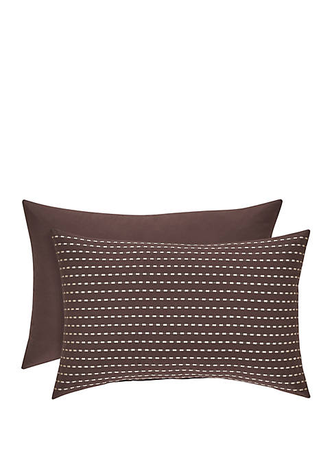 J Queen New York Okemo Chocolate Boudoir Pillow