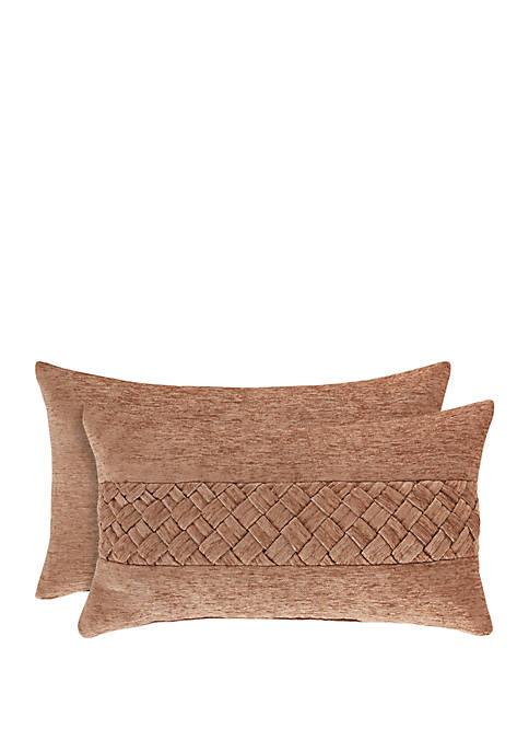 Sunrise Coral Boudoir Pillow