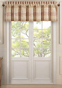 J Queen New York Sunrise Coral Straight Valance