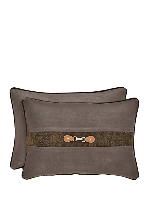Jaspen Gray Boudoir Pillow