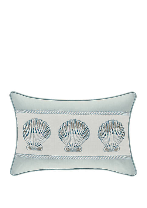 Waters Edge Aqua Boudoir Pillow