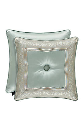 Clearwater Button Throw Pillow