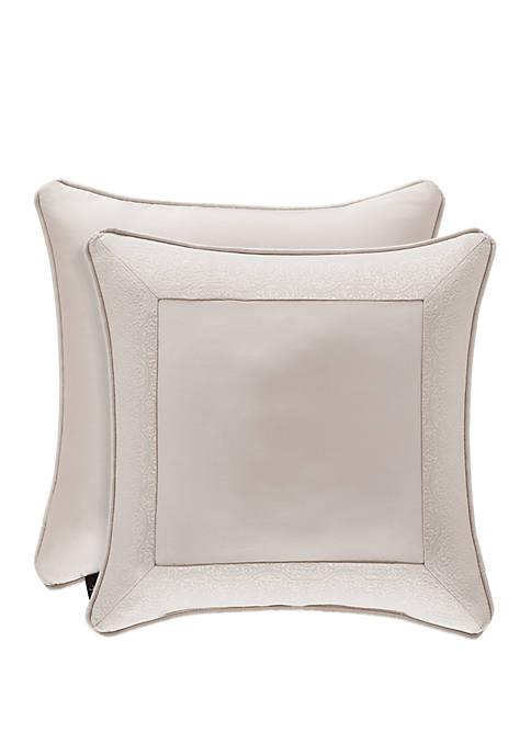 Rigoletto Blush 18 in Square Decorative Throw Pillow