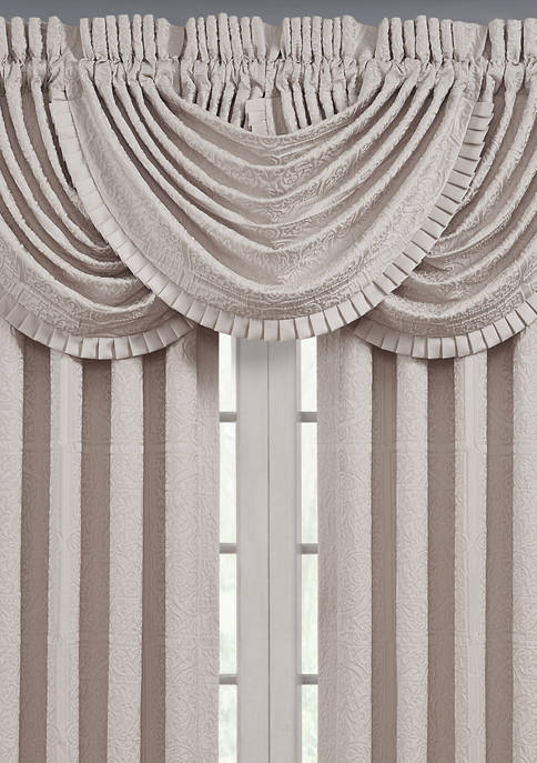 West Riddel Blush Window Waterfall Valance