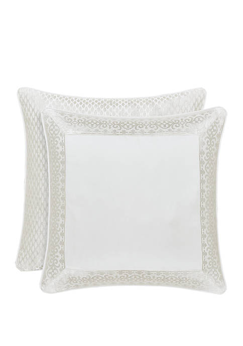 J Queen New York Cordelia White Euro Sham